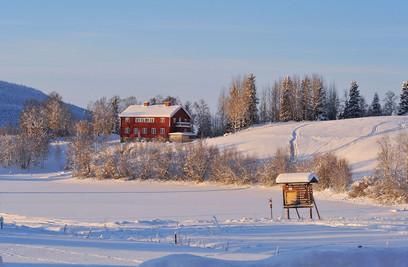 Storsjö Prästgård, Storsjö kapell, Sweden