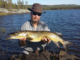 Fiska i Storsjö fiskevårdsområde