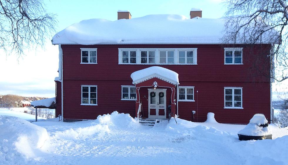 Storsjö Prästgård, Storsjö kapell, Ljungdalsfjällen, Sweden