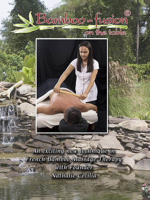 Bamboo Massage On the Table Training DVD