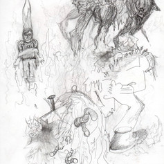 At the Stake for All Our Mistakes Sketch