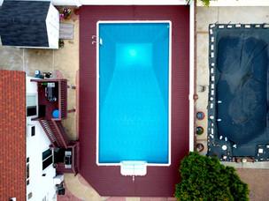 Staten Island In-ground Pool Deck