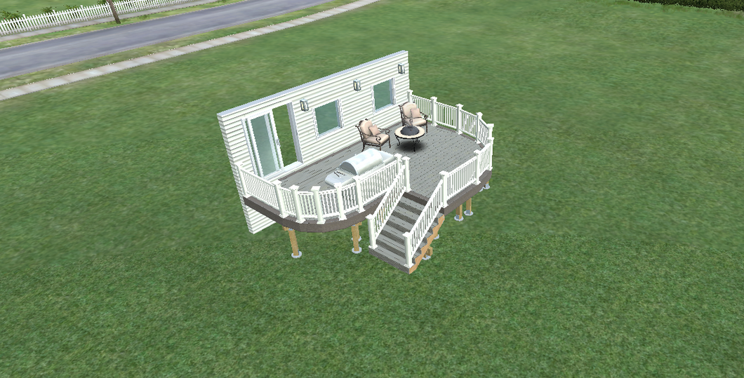 elevated deck design