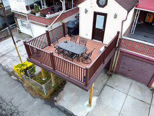 Elevated Deck Space