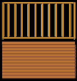 composite deck pans