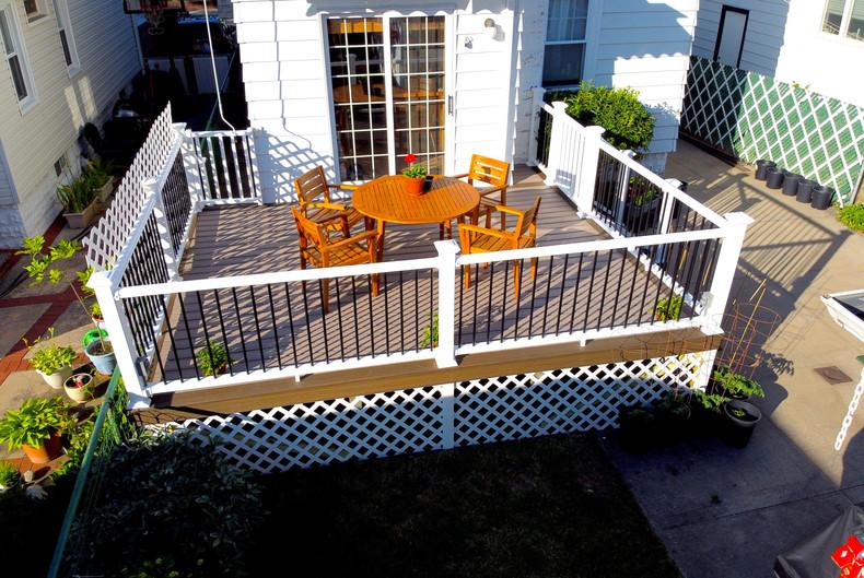 dinning area backyard addition