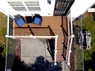Jamaica Backyard Porch