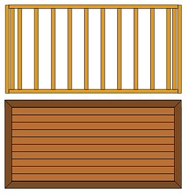 pctureframe deck design