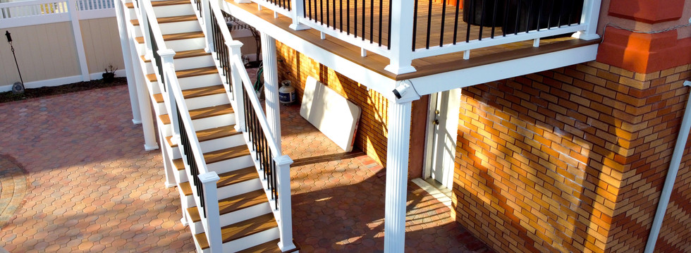 Second Floor Porch Addition