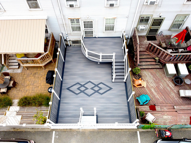 Fort Greene Townhouse Deck