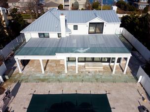 2 Level Terrace in Glass