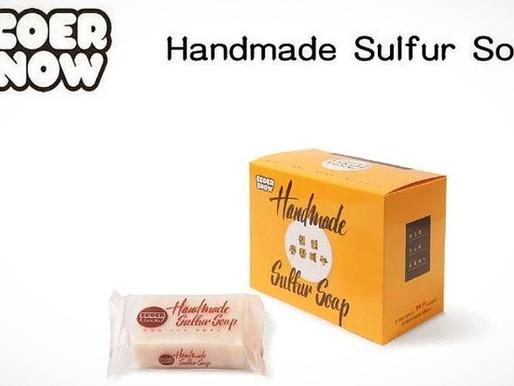 Ecoer Snow: Handmade Sulfur Soap