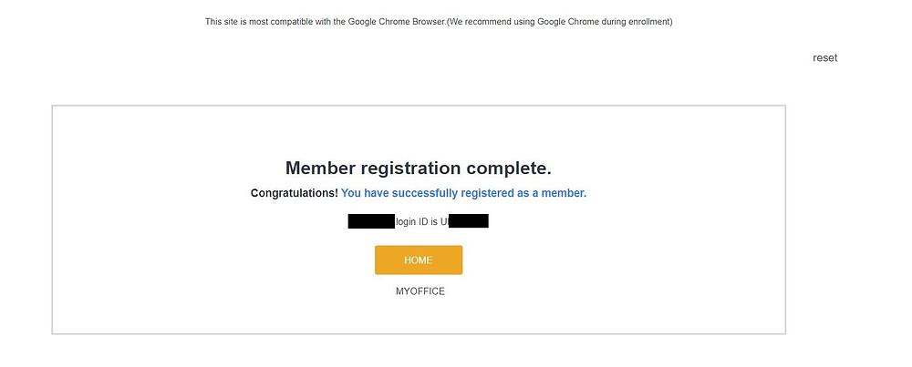 GCoop Membership Registration Complete