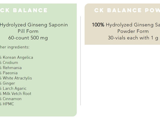 What is the difference between CK Balance and CK Balance Power?