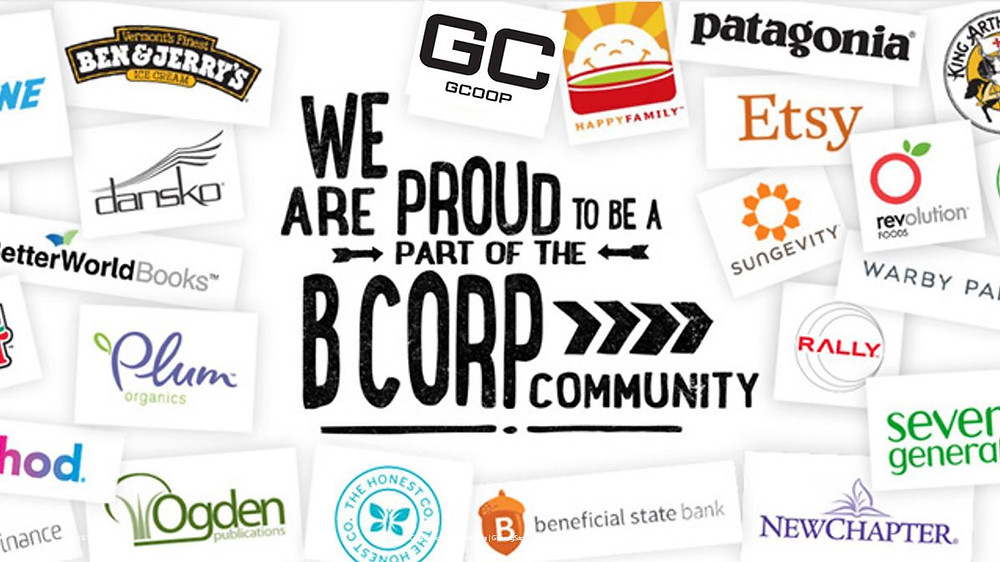 GCoop is part of the B Corp Community