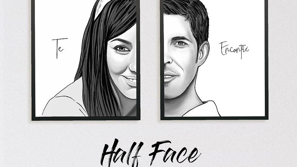 DIGITAL: Half Face