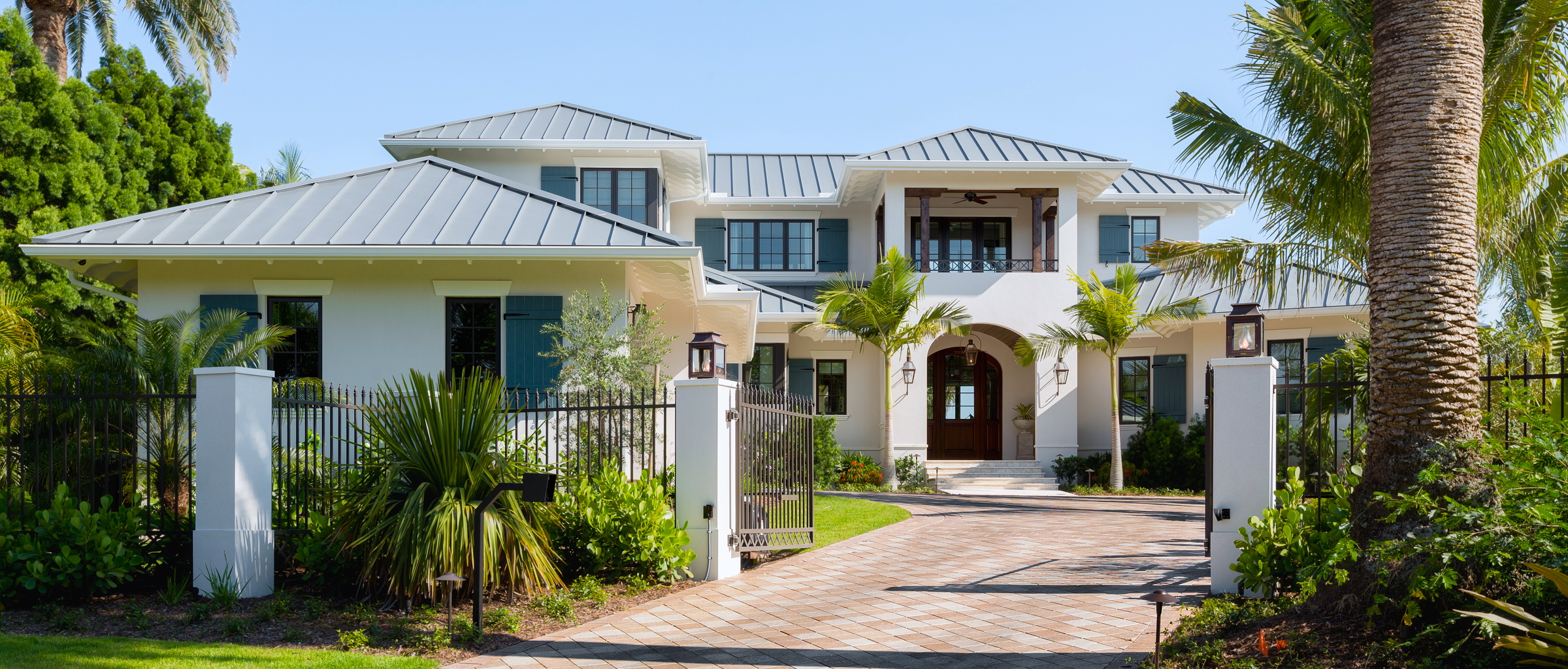 Two-story coastal luxury home