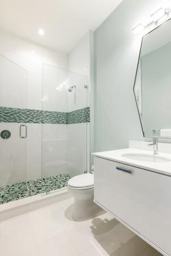 Modern luxury guest bathroom