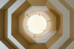 Tray ceiling detail