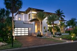 Midcentury modern luxury home exterior