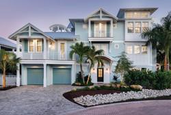 Luxury coastal villa