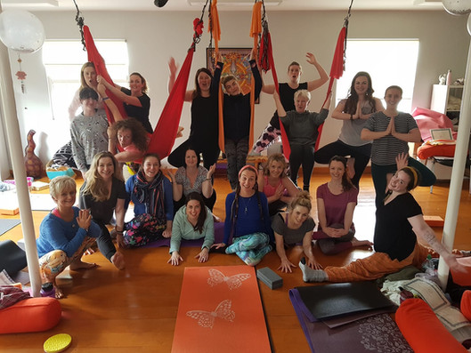 Our most recent Yin Yoga Teacher Trainee Graduates