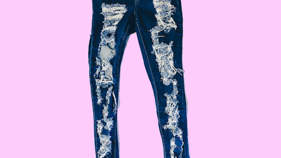 Cuttin Up Jeans