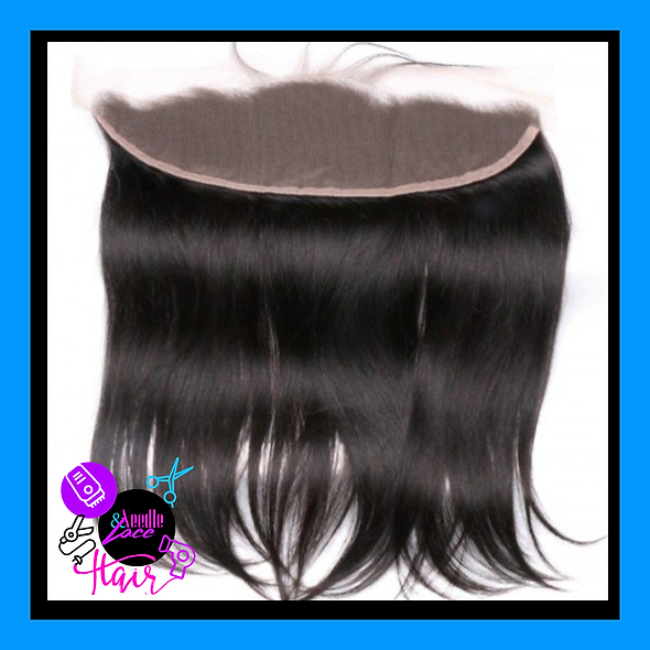 Straight Transparent Lace Frontal