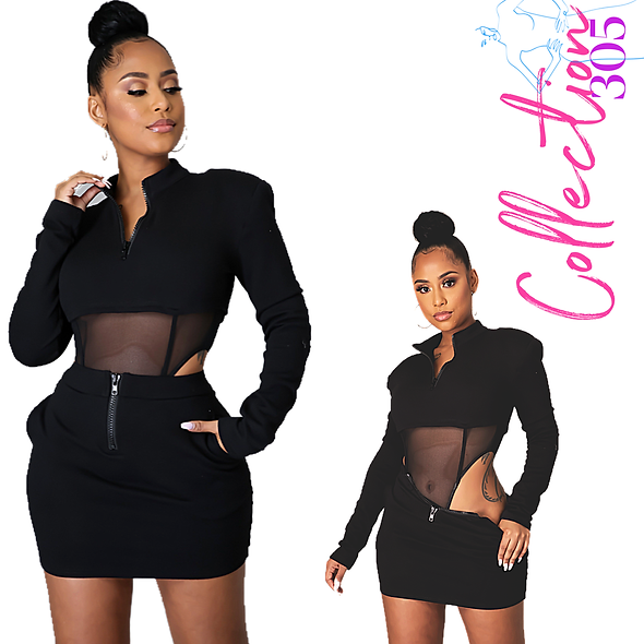 Trendsetter Skirt Set