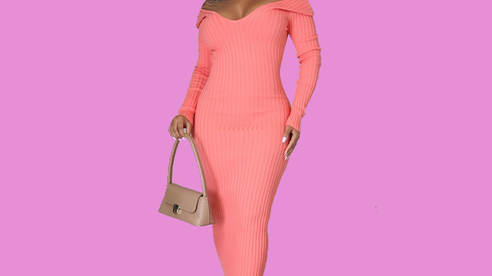 The Ribbed Dress