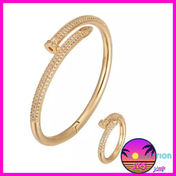 Nail Bangle & Ring