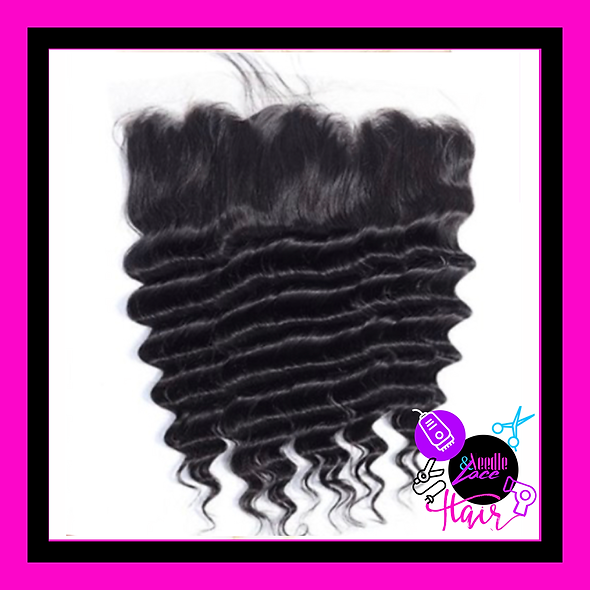 Deep Wave Transparent Lace Frontal