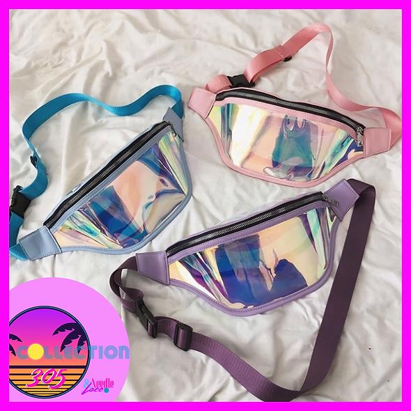 Glam Belt Bag (Holographic)