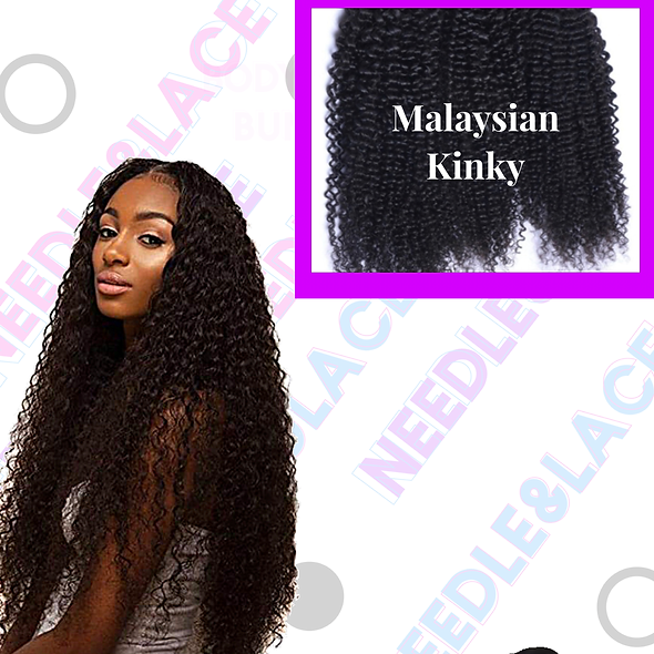 Malaysian Soft Kinky Curl Single Bundle