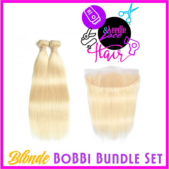 613 Blonde BoBBi Set
