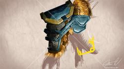 Clash at Midgard shoulder armor