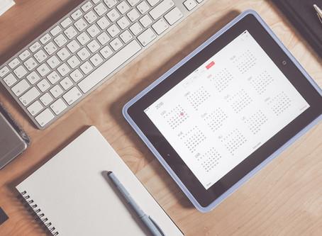October half term and Staff training dates