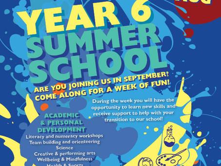 Year 6 Summer School