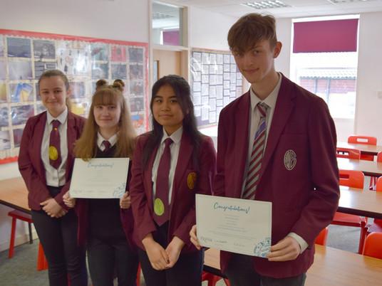 Congratulations to Eggbuckland's Exeter Scholars!