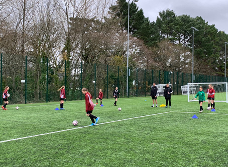 Girls Football- Plymouth Argyle Training
