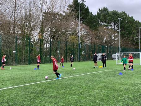 Girls Football- Plymouth Argyle Training