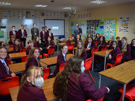 Mr Corrigan's Classes of the Week: another double award!