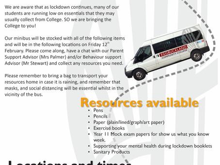 Resources Bus