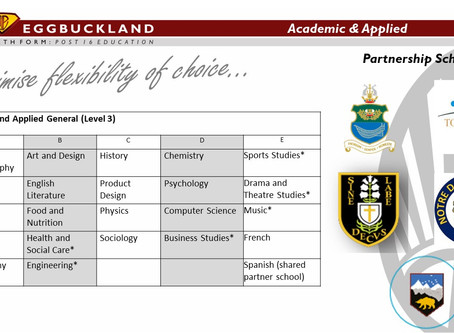 Post 16 Information Evening – Year 11 transition and applications