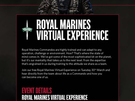 Interested in joining the Royal Marines?