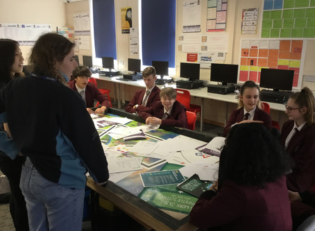 Exeter Scholars work with Year 10