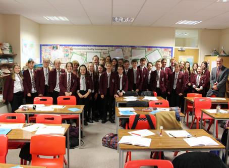 Mr Corrigan's class of the week