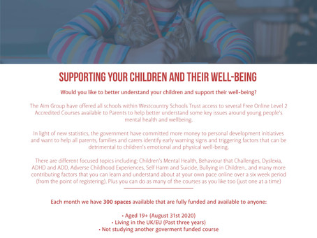 Free Courses for Parents in Child Mental Health