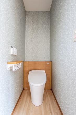 押入れだったスペースにトイレを増設しました。|リフォームの施工事例|トイレ