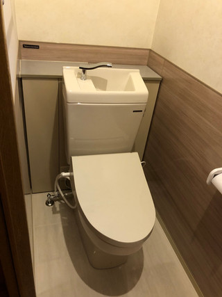 ホーローパネルでお手入れ簡単トイレに! トイレ